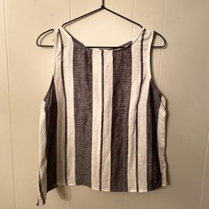 Striped Anthropologie Blouse